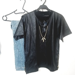 ヨウジヤマモト(Yohji Yamamoto)のカットソー(Tシャツ/カットソー(半袖/袖なし))