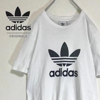 アディダス(adidas)の【人気のビッグトレフォイルロゴ染み込みプリント】アディダス adidas TEE(Tシャツ/カットソー(半袖/袖なし))
