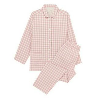 MUJI (無印良品) - 無印良品  脇に縫い目のない二重ガーゼパジャマ