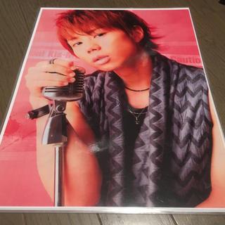 キスマイフットツー(Kis-My-Ft2)の北山宏光 ラミネートポスター 2種(アイドルグッズ)