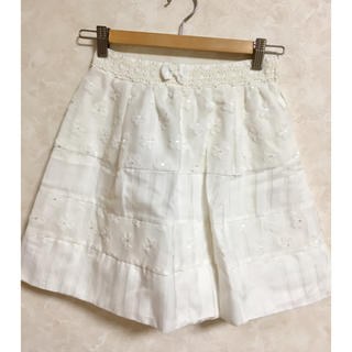 リズリサ(LIZ LISA)の【未使用】LIZ LISAリズリサ ☆白スカート(ミニスカート)