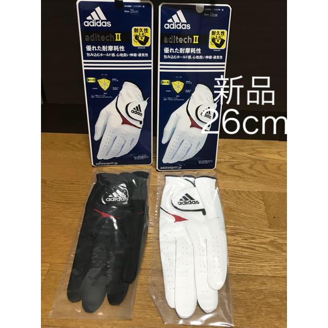 adidas(アディダス)の【新品、未使用】 アディダス adidas ゴルフ  手袋 グローブ スポーツ/アウトドアのゴルフ(その他)の商品写真