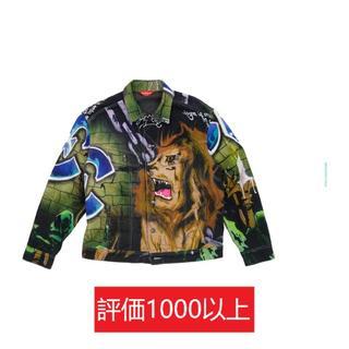 シュプリーム(Supreme)のLion's Den Denim Trucker Jacket サイズS(ブルゾン)
