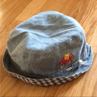 4b807c1ff8eba 新品 ミキハウス 帽子 52cm タレ付き帽子 ハンチング 日よけ. ¥1,800. mikihouse - ミキハウス 帽子 プッチー  リバーシブルハット