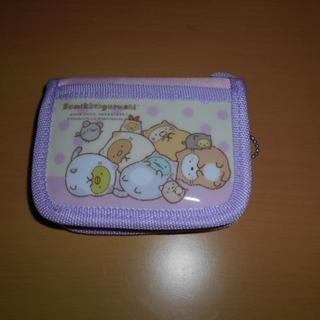 サンエックス - 新品・未使用♡すみっコぐらし折り畳み財布③