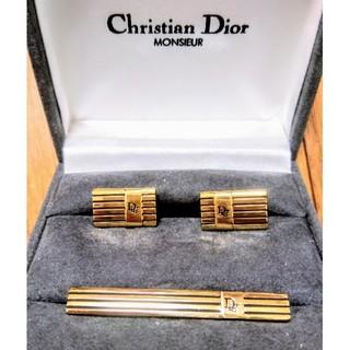 Christian Dior - ディオール ネクタイピン カフスセット