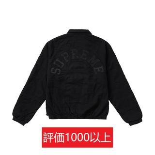 シュプリーム(Supreme)のSupreme Patchwork Harrington Jacket 黒S(ブルゾン)
