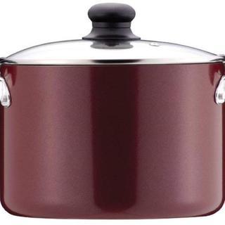 【在庫わずか】寒い冬にあったら嬉しい☆ 鍋 22cm ガラス鍋蓋付 IH対応