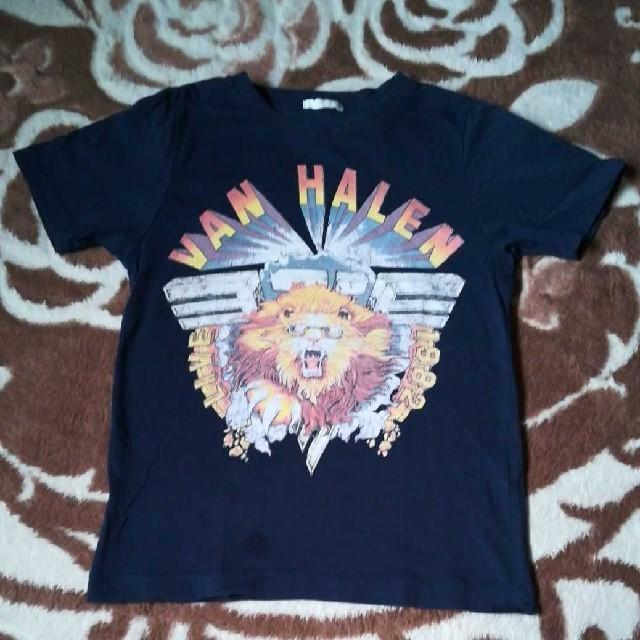 GU(ジーユー)のGU キッズ Tシャツ 120 キッズ/ベビー/マタニティのキッズ服 男の子用(90cm~)(Tシャツ/カットソー)の商品写真