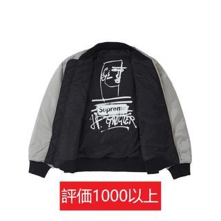 シュプリーム(Supreme)のSupreme Jean Paul Gaultier MA-1 銀L(ブルゾン)