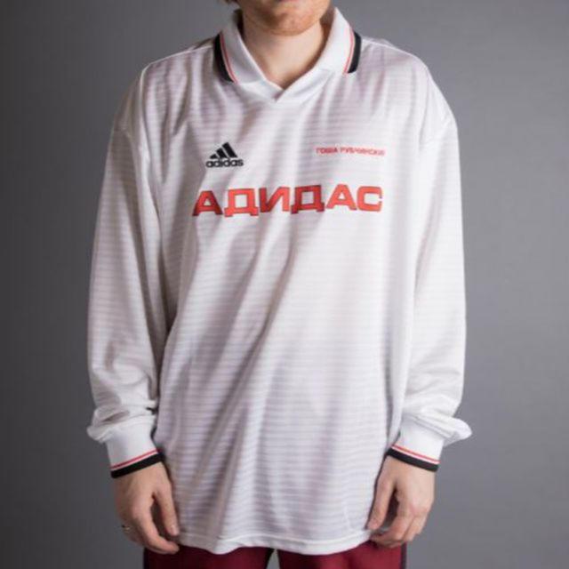 adidas(アディダス)のゴーシャラブチンスキー アディダス サッカーシャツ メンズのトップス(Tシャツ/カットソー(七分/長袖))の商品写真