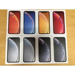 アイフォーン(iPhone)のiPhone XR 64GB SIMフリー SIMロック解除 7台(スマートフォン本体)