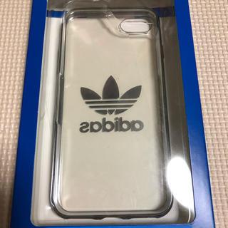アディダス(adidas)の未使用に近い iPhone8ケース(iPhoneケース)