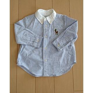 ラルフローレン(Ralph Lauren)の新品未使用♡RALPHLAURENシャツ80(シャツ/カットソー)