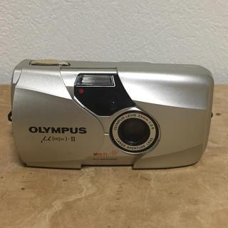 オリンパス(OLYMPUS)のオリンパス  μ2  35mm単焦点  フイルムカメラ  動作品(フィルムカメラ)