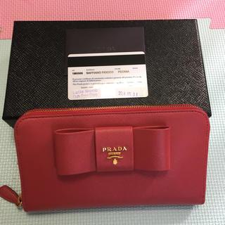 プラダ(PRADA)の訳ありプラダ ピオニア 長財布 7月で取り消し(財布)