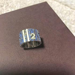 クリスチャンディオール(Christian Dior)の9号 クリスチャンディオール 「2」トロッターリング 指輪(リング(指輪))