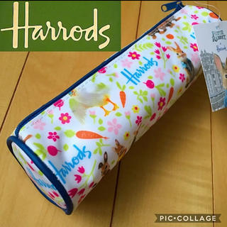 ハロッズ(Harrods)の【限定】新品タグ付✨ハロッズ ピーターラビット❤️ペンケース 【匿名配送】(ペンケース/筆箱)