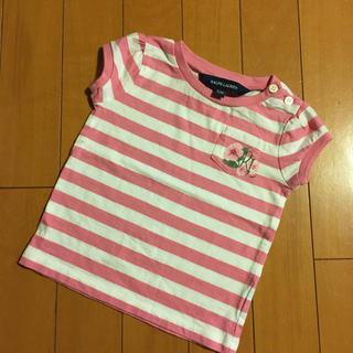 ラルフローレン(Ralph Lauren)のRALPH LAUREN 12M Tシャツ 女の子 80cm ラルフ(シャツ/カットソー)