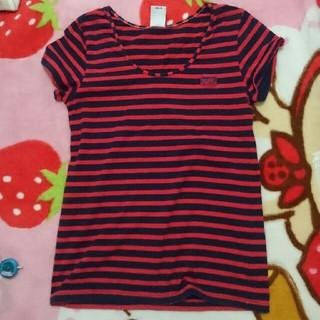 エックスガール(X-girl)のエックスガール ボーダー Tシャツ (Tシャツ(半袖/袖なし))