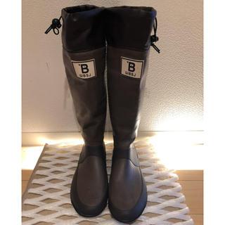日本野鳥の会 レインブーツ ブラウンL(26センチ)(レインブーツ/長靴)