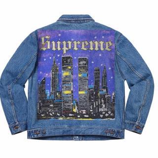 Supreme - Supreme Painted Trucker Jacket New York