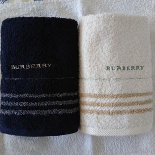 バーバリー(BURBERRY)のburberryフェイスタオル(タオル/バス用品)