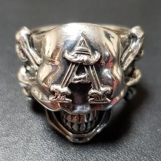 アンダーカバー(UNDERCOVER)のレア UNDERCOVER  2008AW Skull Ring (リング(指輪))