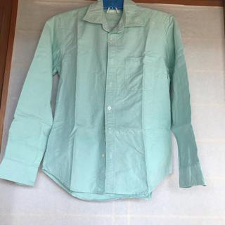 GU - ミントグリーン シャツ