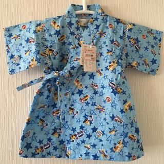 シマムラ(しまむら)の新品 ベビー 甚平 80(甚平/浴衣)
