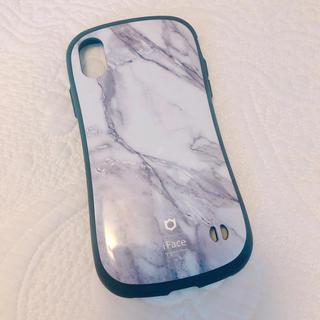 アイフォーン(iPhone)のiPhone X用 iface 大理石柄 マーブル柄(iPhoneケース)