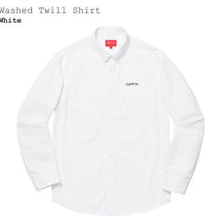 Supreme - Supreme washed twill shirt