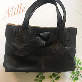 34c434b378b4 キタムラ(Kitamura)の美品✨ミラ 本革 シンプルトート 黒(トート