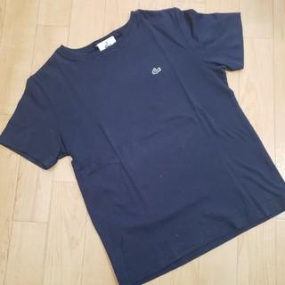 ラコステ(LACOSTE)のLACOSTE ネイビーTシャツ38(Tシャツ(半袖/袖なし))
