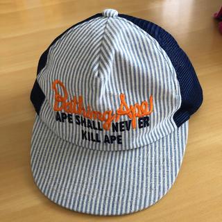 アベイシングエイプ(A BATHING APE)のBAPE KIDS メッシュキャップ 帽子(帽子)