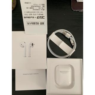 Apple - 【当日発送】AirPods 第二世代 MV7N2J/A