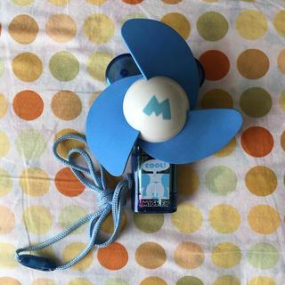 ディズニー(Disney)のミッキー ハンディ 扇風機(扇風機)