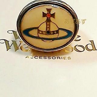 ヴィヴィアンウエストウッド(Vivienne Westwood)のエナメルオーブリング 稀少なゴールド ヴィヴィアン(リング(指輪))