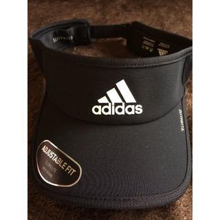 adidas - adidas 黒サンバイザー