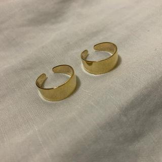 マルタンマルジェラ(Maison Martin Margiela)の四連リング ゴールド 即購入ok(リング(指輪))