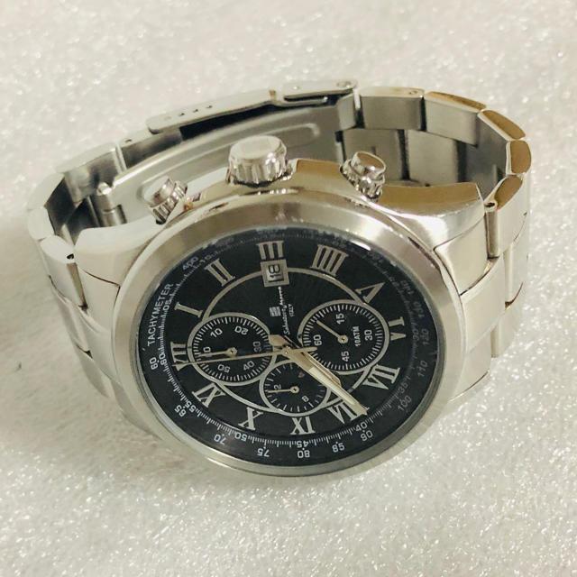 Salvatore Marra(サルバトーレマーラ)のSalvatore Marraサルバトーレマーラ クロノグラフ 購入価格3万円 メンズの時計(腕時計(アナログ))の商品写真