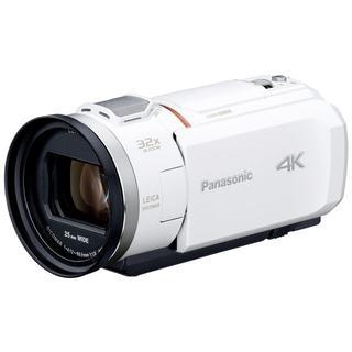 Panasonic - 新品同様品☆Panasonic HC-VX1M-W ホワイト☆4Kビデオカメラ