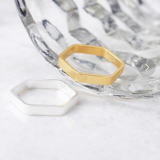 アネモネ(Ane Mone)のアネモネ ヘキサゴンリング(リング(指輪))
