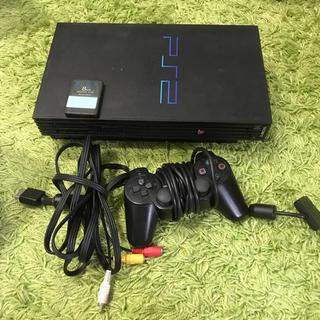 プレイステーション2(PlayStation2)のプレイステーション2本体 ジャンク(家庭用ゲーム本体)