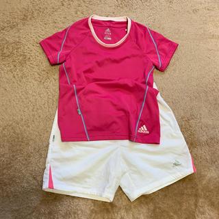 アディダス(adidas)のアディダス トーレーニングウエア(Tシャツ(半袖/袖なし))