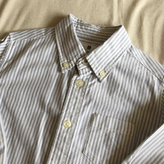 ユニクロ(UNIQLO)の美品♡UNIQLO キッズシャツ 110(ブラウス)
