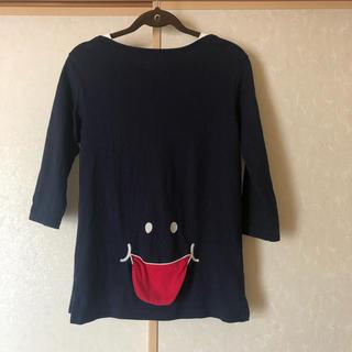 アップルスマイル(APPLE SMILE)のUP SMILE あっかんべーTシャツ サイズM アップスタート(シャツ/ブラウス(長袖/七分))