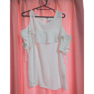 シマムラ(しまむら)の3L オフショルダー 大きいサイズ しまむら(Tシャツ(半袖/袖なし))