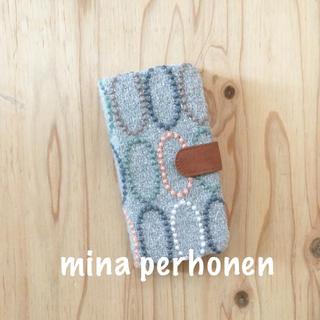 ミナペルホネン(mina perhonen)の【51】タルト♡ミナペルホネン♡iPhone x手帳型ケース(iPhoneケース)