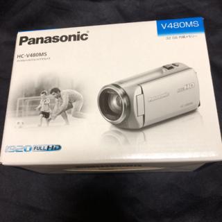 新品 パナソニック デジタルハイビジョンビデオカメラ (ホワイト)